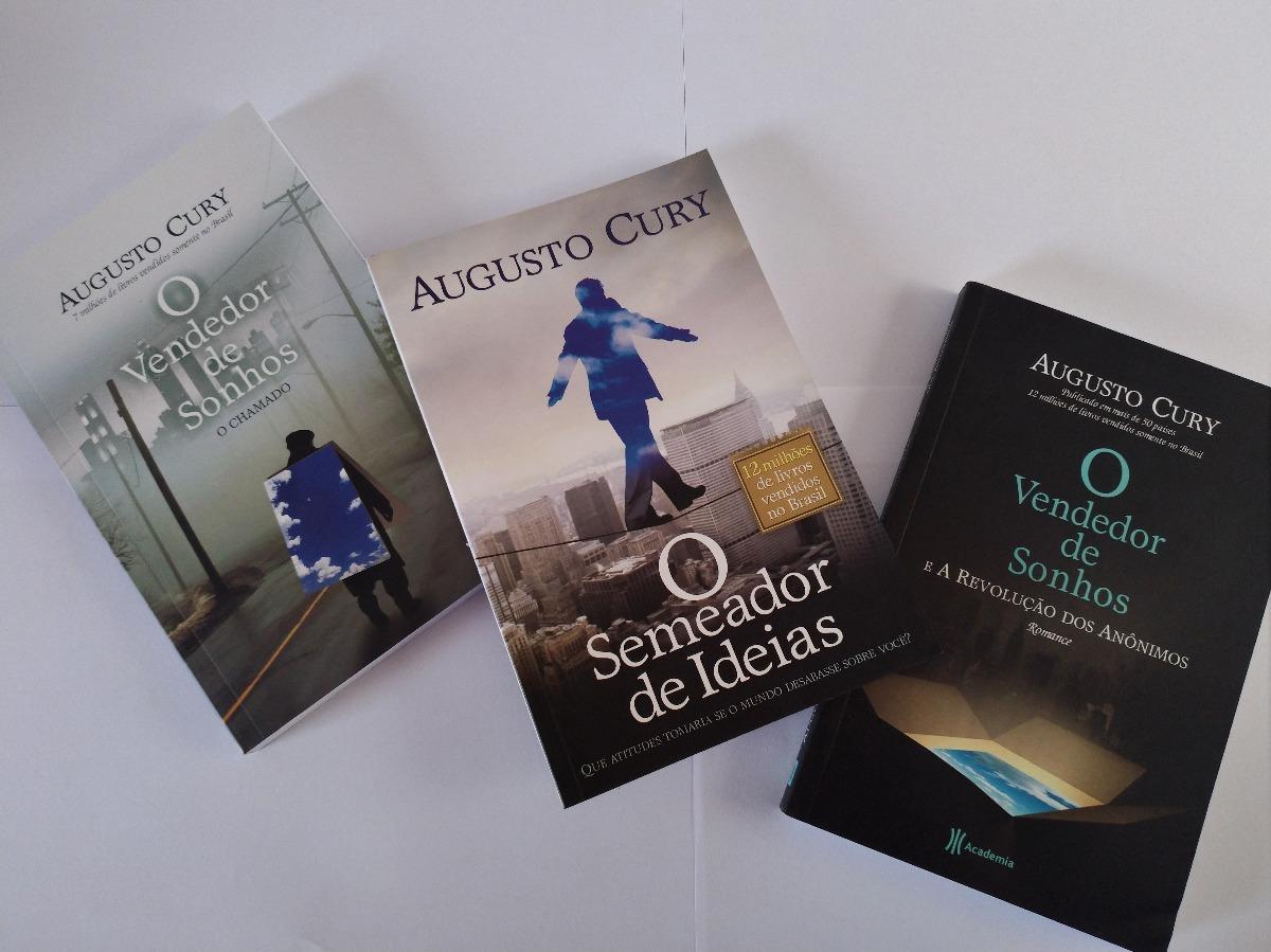 Tag Livros Augusto Cury O Vendedor De Sonhos