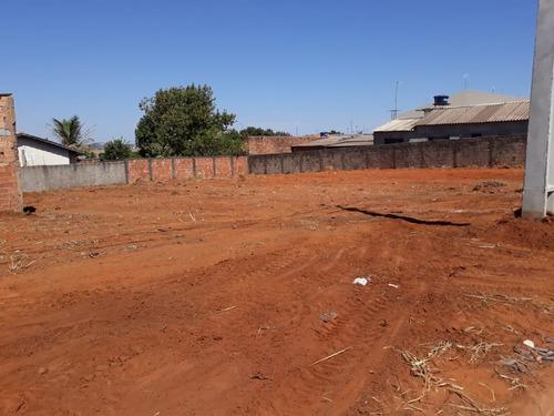3 lotes (asfalto, agua e esgoto) setor marista