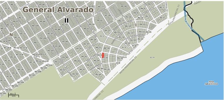3 lotes excelente ubicacion barrio copacabana a 5 de miramar