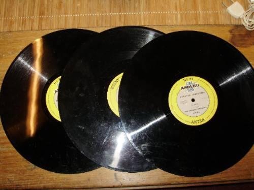 3 lps audio libro serie descriptiva el uruguay andebu '60s