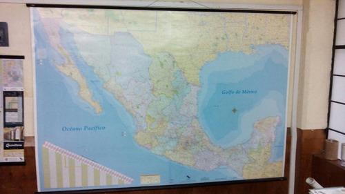 3 mapa mexico mural republica mexicana 180cm x 125 cm