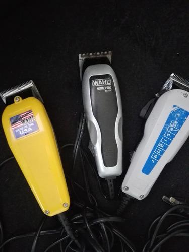3 máquinas de peluquería promoción