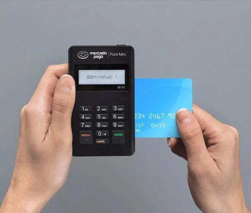 3 maquininha de cartões point mini sem aluguel -envio rapido