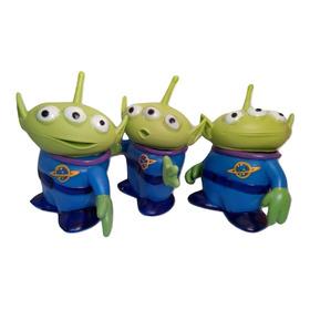3 Marcianos Aliens Toy Story Vinyl Nacionales 17 Cms