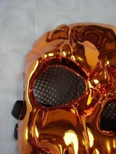 3 mascaras haloween red skul abobora espelhada