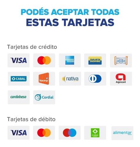 3 mercado pago point plus - lector de tarjetas - no posnet