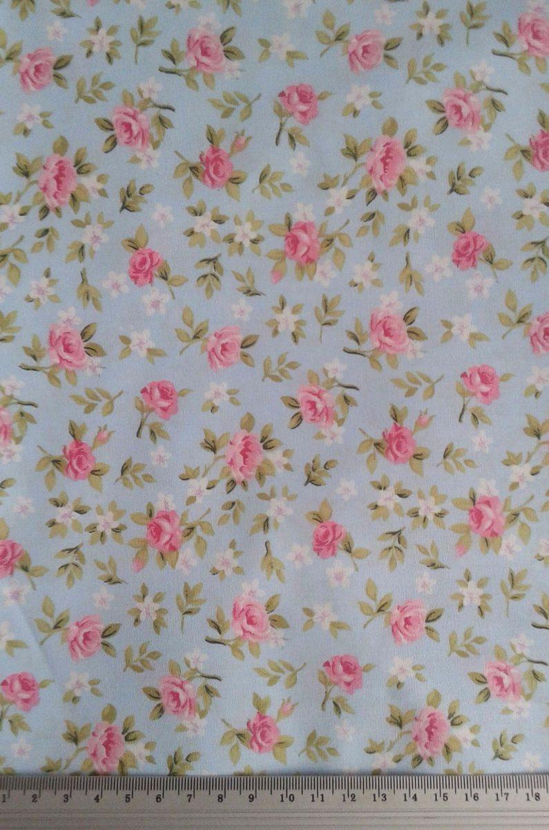 Tecido estampado lucia flores