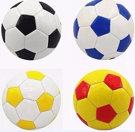 3 Mini Bola De Futebol Tamanho 2 Couro Sintético Promoção - R  46 6247aada3bbd9
