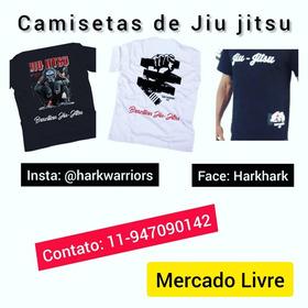 3 Modelos De Camisetas De Jiu Jitsu E Mma Hark Warriors