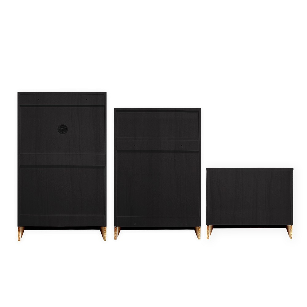3 muebles organizadores zapatos negro 12 niveles rebajas for Rebajas muebles de jardin