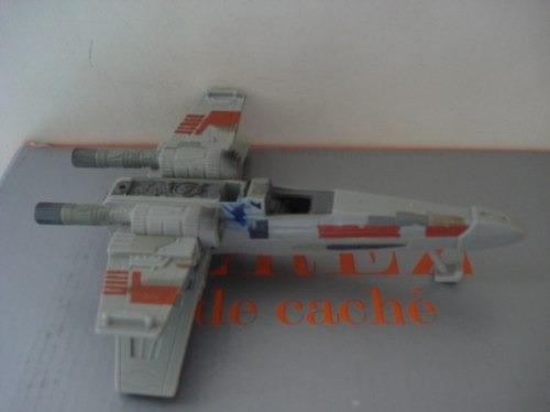 3 naves incompletas  de star wars 16 cms