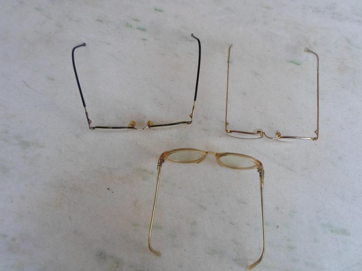 365fdbd07bc35 3 oculos de grau antigos retro vintage leia o anuncio 02. Carregando zoom.