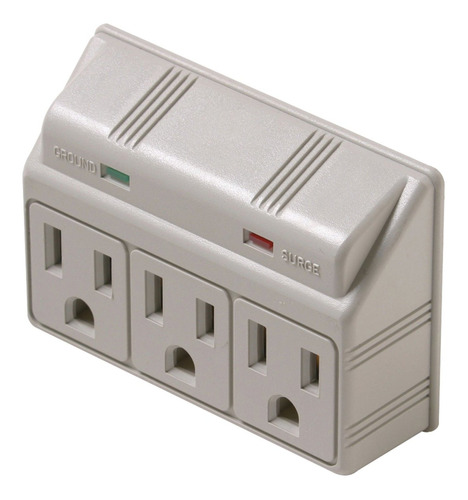 3 outlet plug-in surge protector ul