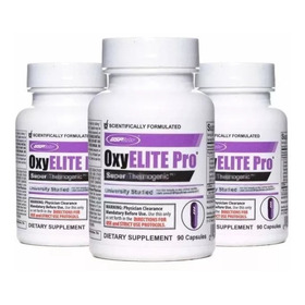 3 Oxyelite Pro Dmaa (fórmula Antiga) Envio Rápido Promoção
