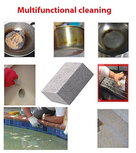 3 Pack 100 Limpiador Ecológico De Piedra Para Asar Inodoro