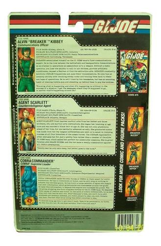 3 pack alvin breaker kibbey agent scarlett cobra commander