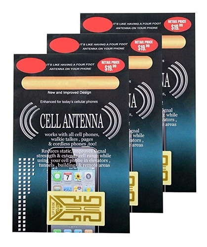 3 pack boosters teléfonos celulares tablets paginadores pda