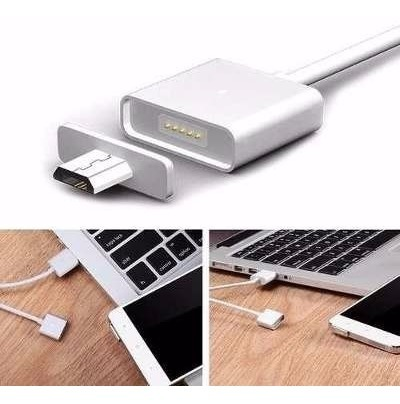7088fe78392 3 Pack Cable Cargador Magnetico Android Micro Usb - $ 449.00 en ...