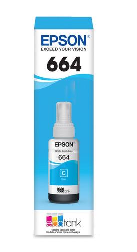 3 pack color tinta epson t664 l310 l380 l395 l396 l495 l575