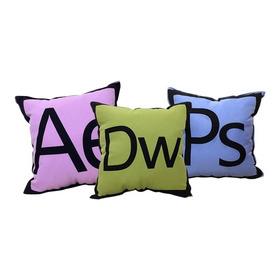 3 Pack De Cojines | Programador Web | Suite Adobe