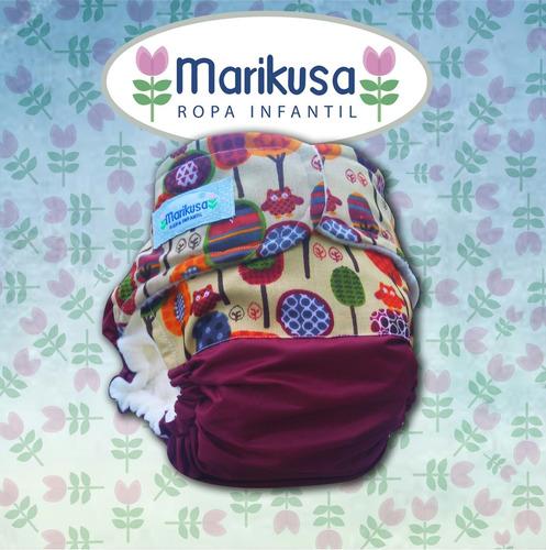 3 pack marikusa! pañales ecológico ¡nuevos!