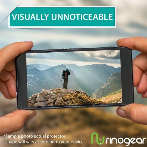 3-pack rinogear para la pantalla de iphone x / xs case de pr