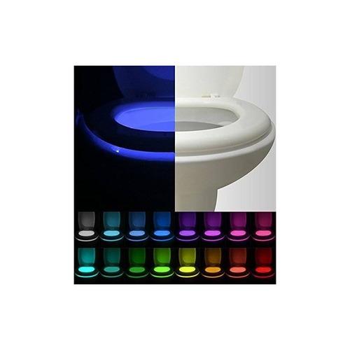 [3-packs] luz de noche de wc activado por mov + envio gratis