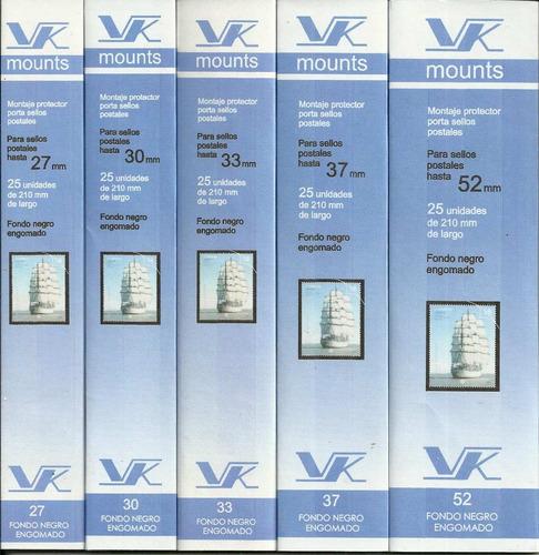3 paquetes de bandas marca vk excelente calidad a elegir