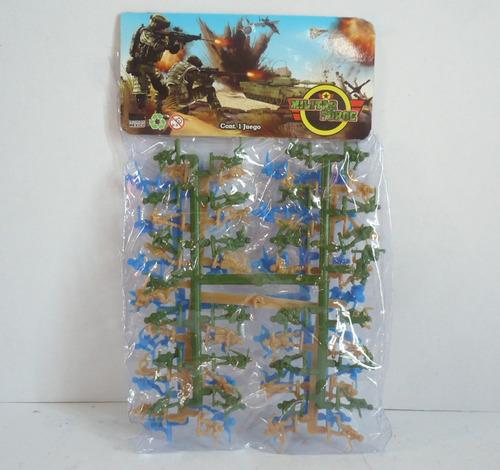 3 paquetes soldaditos escala 1:72 figuras de juguete bootleg