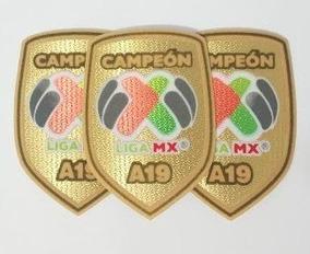 LIGA MX RAYADOS DE MONTERREY LOCAL PARCHE DE CAMPEON A-19