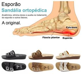 c764e1955 Sandalia Para Fascite Plantar Sandalias - Sapatos no Mercado Livre ...