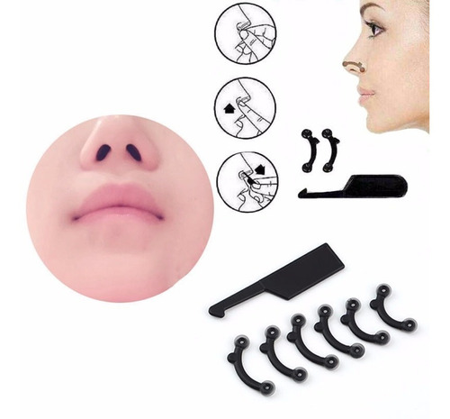 3 pares corrector respingador nariz nose up