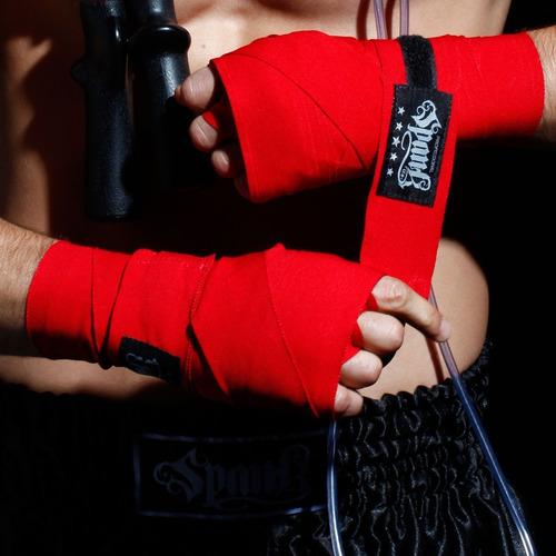 3 pares de bandagem atadura elástica muay thai ou boxe 3m