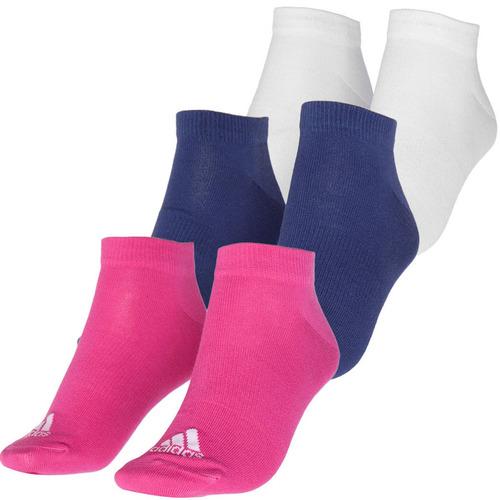 3 pares de calcetines performance mujer adidas aj9608