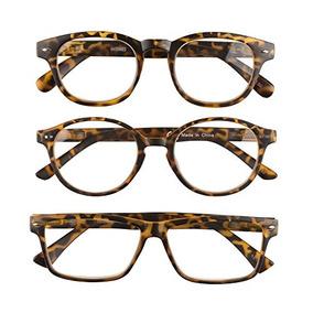 89cf331a7d 3 Pares De Gafas De Lectura Deluxe Unisex Cómodas Y Sencil