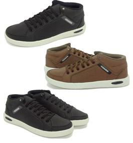 56a427ee26 Sapatenis Masculino Kit 4 - Sapatos no Mercado Livre Brasil