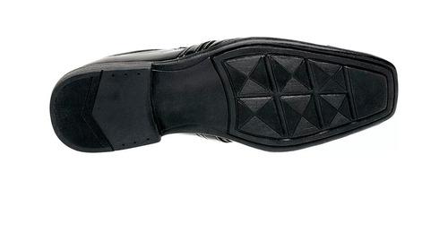 3 pares de sapato verniz social masculino