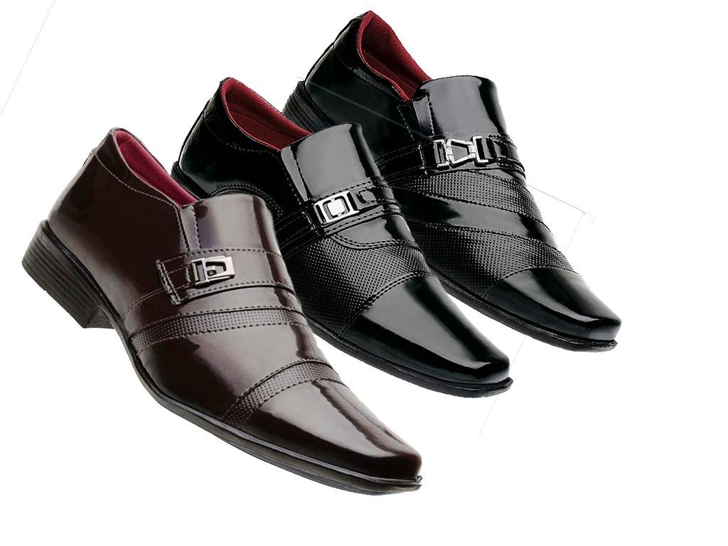 9d92ae4711694 ... sapato verniz social masculino. Carregando zoom.