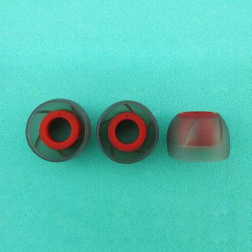 3 pares gomas almohadillas tips para audífonos kz respuestos