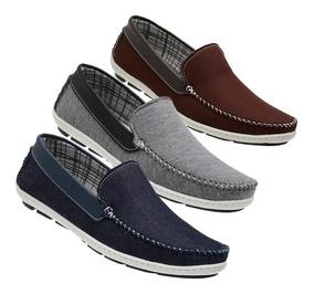 f9590072b Sapato Social Masculino Tecido - Sapatos com o Melhores Preços no ...