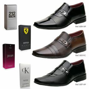 07cc77fbc90d1 Sapato Social Masculino Envernizado Elegante - Sapatos com o ...