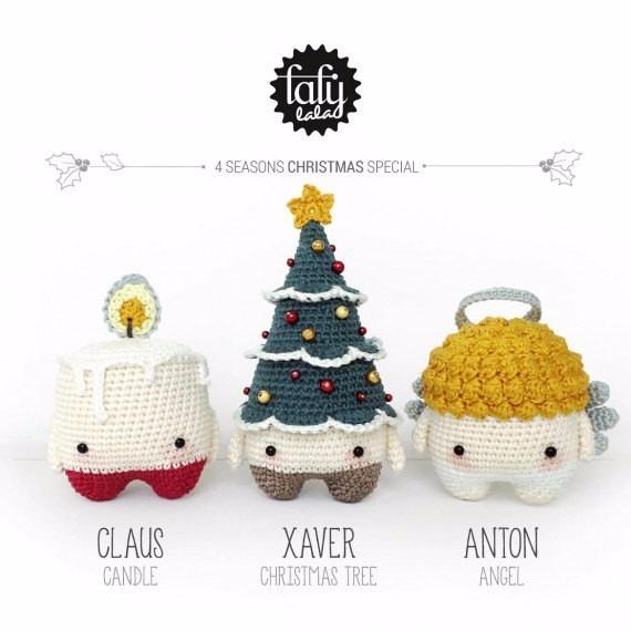3 Patrones Lalylala Especial Navidad - Crochet - En Español - $ 99 ...