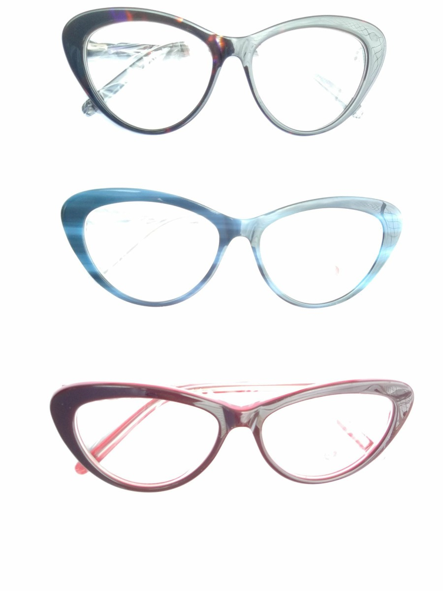 f25df7c1b 3 pç armação óculos p/ colocar grau gato reforçada promoção. Carregando zoom .