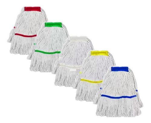 3 pçs refil mop úmido cabeleira 100% limpeza profissional
