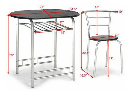 Chair Set Home Kitchen Tabl