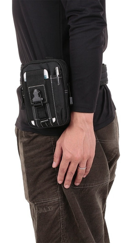 3 pcs tacticl cintura cinturón molle bolsa mosquetón set 2.1