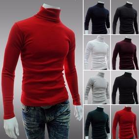 885d13a3dc Blusa De Lã Gola Role Masculina - Calçados
