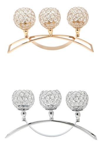 3 pedazos candelabros adornos de mesa favores de boda
