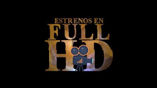 3 peliculas estreno, clasicos, animadas digitales fullhd
