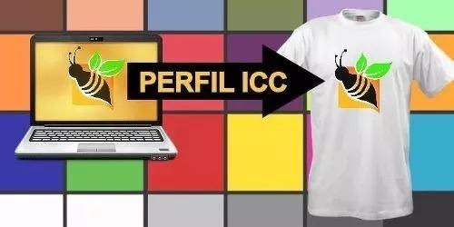 3 perfil de cores icc epson l220 l355 l365 l375 sublimática